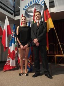 Pavel Imlauf a Diana Vilímková - host z HK
